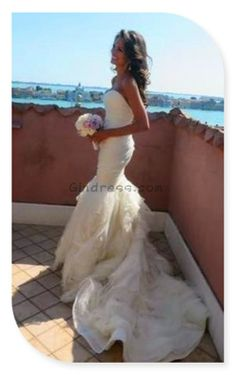 Gorgeous- I think I am going to pick a mermaid wedding dress!! Can't wait I try…