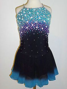 BEAUTIFUL ICE FIGURE SKATING DRESS SIZE - CUSTOM MADE TO FIT | Artículos deportivos, Deportes de invierno, Patinaje sobre hielo | eBay!