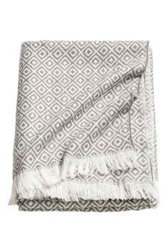 Manta em mistura de lã