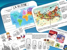 EN ROUTE POUR LA RUSSIE: 2ème ESCALE LE PETIT CHAPERON QUI N'ETAIT PAS ROUGE ET MATRIOCHKA Montessori Activities, Kindergarten Activities, Activities For Kids, Classroom Behavior Chart, Classroom Themes, Flags Europe, Around The World Theme, Alternative Education, Teaching Literature