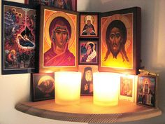 Flickr collection of Orthodox icon corners
