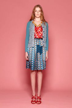 Tory Burch Resort 2012 Runway - Tory Burch Resort Collection - ELLE