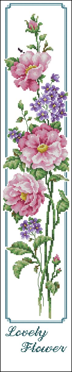 Click % close image, click and drag to move. Use arrow keys for next and previous. Cross Stitch Bookmarks, Cross Stitch Rose, Cross Stitch Borders, Cross Stitch Flowers, Cross Stitch Charts, Cross Stitch Designs, Cross Stitching, Cross Stitch Embroidery, Embroidery Patterns