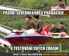 Pozor! Severní Korea pokračuje...