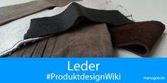 Der nächste Artikel in unserem #ProduktdesignWiki handelt vom Material #Leder. Da es sicher noch einige weitere interessante Infos zu diesem hochwertigen Material gibt, freuen wir uns auf euren Input und Erweiterungsvorschläge...