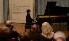Tomás Alegre deslumbró en Tigre con su concierto de piano