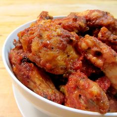... Wing recipes on Pinterest | Chicken wings, Baked buffalo wings and