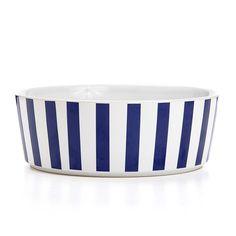 Stripey Soiree Designer Dog Bowl
