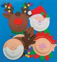 Platypus Crafts Paper Plate Santa S Elf Craft Kit