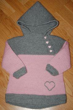 oslo anorakk Baby Knitting, Crochet Baby, Knit Crochet, Knit Fashion, Kids Wear, Kids And Parenting, Knitting Patterns, Baby Kids, Diy And Crafts