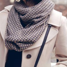 Scarf. #winterfashion #fashion #hswardrobe