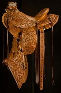 I would LOVE to have a Nancy Martiny saddle someday.