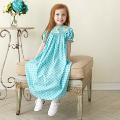 Easter dresses here on www.lollywollydoodle.com  The cutest ones on the web!