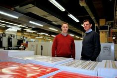 Martin och Henrik Sandén, Sandén Security Printing
