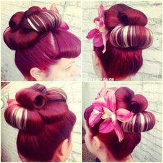 Pinup hair