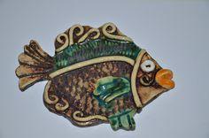 Hand made ceramic fish