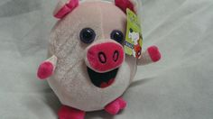 Toy Factory Pink Pig Plush Stuffed Animal Round ADORABLE CUTE  WITH TAGS | Toys & Hobbies, Stuffed Animals, Other Stuffed Animals | eBay!