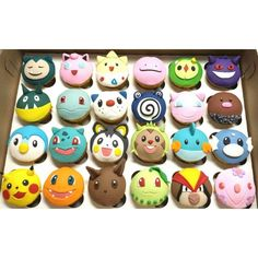 Awesome Pokémon Cupcakes. Video Game Cake