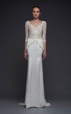 Victoria Kyriakides Fall 2015, http://ruffledblog.com/victoria-kyriakides-fall-2015-collection #weddingdress #bridal #weddinggown