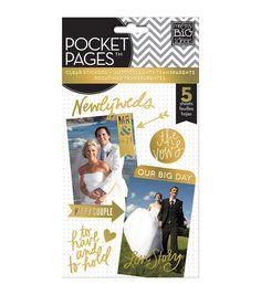 For wedding scrapbook