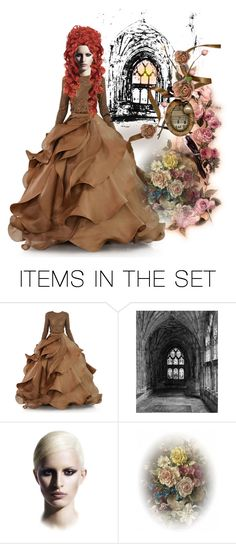 """""""Red headed Beauty"""" by julidrops ❤ liked on Polyvore featuring art"""