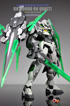 GNT-0000 Gundam 00 Qan[T] Roll Out Color
