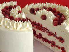 Torta merengue frambuesa