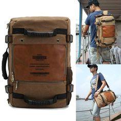 Rucksack Backpack, Travel Backpack, Travel Bags, Backpack Camping, Laptop Shoulder Bag, Canvas Shoulder Bag, Shoulder Bags, Hijab Mode, Briefcase For Men