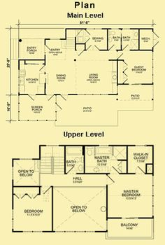 Small craftsman style open floor plan number sg 981 ams for Carolina cottage house plans