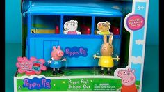 Estrazione of the bus Peppa Pig. Vediamo new toy school-bus Peppa Pig. S...