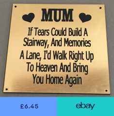 Plaques & Signs Home, Furniture & DIY #ebay Dad Son, Photo Canvas, Memories, Plates, Signs, Diy, Furniture, Memoirs, Licence Plates