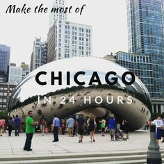 How to spend a short visit to Chicago. Chicago weekend getaway, Chicago things to do, Chicago quick sightseeing, Spending a day in Chicago, Weekend Trips, Weekend Getaways, Chicago Things To Do, Chicago Usa, United States Travel, Plan Your Trip, In The Heights, North America, Nyc
