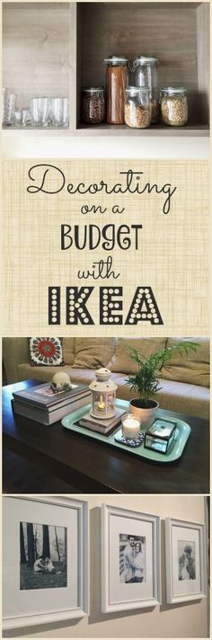 Decorating on a Budget with IKEA (and my favorite IKEA hacks!) || #IKEA #decorating