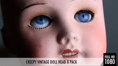 This 8 pack features one of the creepiest doll heads in my collection… Ever heard of Pediophobia? Well this is the epitome of pediophobia!! Everything is all fine and dandy and then all of a sudden those eyes pop open… AHHHH! In this 8 pack you will find a nice mixture of lockdown shots, tilts, pans, rack focuses, jolts and blurs.. basically everything you need to scare the crap out of your audience!