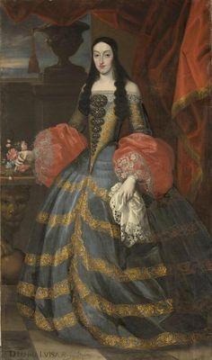 Doña María Luis de Orleans, reina de España. Francisco Ignacio Ruiz de la Iglesia.