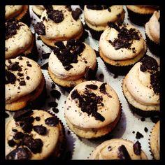 Coffee Cookies & Creme cupcakes by Georgetown Cupcake - June flavor!