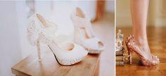 Los zapatos de novia que siempre soñaste