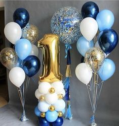 Club Balloons - new site 1st Birthday Party Decorations, Birthday Balloon Decorations, First Birthday Parties, Baby Shower Decorations, First Birthday Balloons, Birthday Gifts, Festa Mickey Baby, Baby Boy 1st Birthday, 1st Birthdays