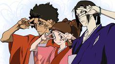 Samurai Champloo gang