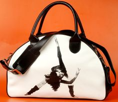 Which Bag are You? Sporty and Spicy- a cute unisex gym tote that makes working out worthwhile