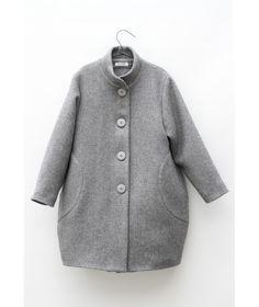 Płaszcz Regina Coat Light Grey jasno szary