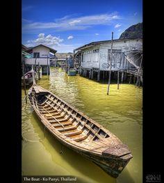 The Boat – Ko Panyi, Thailand (HDR)