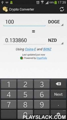 Crypto Converter  Android App - playslack.com , This currency converter allows you to calculate the equivalent value of almost any cryptocurrency or fiat currency in another cryptocurrency or fiat currency.Features:* Fluid and intuitive calculator interface* Exchange rates updated automatically* Bitcoin, Litecoin, Namecoin, PPCoin, Feathercoin, Novacoin, Primecoin, Terracoin, Dogecoin, Megacoin, Ripple, Digitalcoin, Worldcoin, Ixcoin, Vertcoin, Netcoin, Hobonickels, Blackcoin…