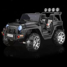 SPORTrax Thar XL Kid's Ride On , Battery Powered, Remote Control, w/FREE MP3 Player - Black