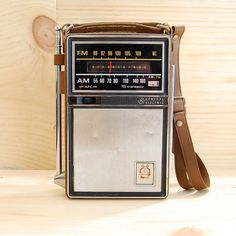 Transistor radio - I used to sleep with one of these under my pillow, so my mom couldn't hear me listening to music after I was supposed to be sleeping