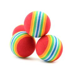Hot Sale 3 Pieces Colorful Pet Cat Kitten Soft Foam Rainbow Play Balls Activity Toys Funny >>> Visit the image link more details. (This is an affiliate link and I receive a commission for the sales) Small Dog Toys, Small Dogs, Dog Chew Toys, Pet Toys, Interactive Cat Toys, Pet Puppy, Dog Cat, Puppy Play, Activity Toys