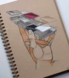Product Design Illustrations on Behance #ad