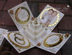 Mischief, Jammies and Glitter: Another lil Wedding xxx. Explosion wedding box