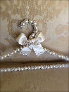 bridal hanger wedding dress hanger dress by TheCrystalFlower
