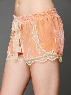 Intimately Silky Velvet Lounge Short at Free People Clothing Boutique
